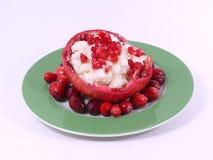 Frutas e arroz Fotografia de Stock Royalty Free