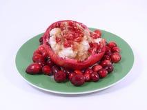 Frutas e arroz Imagem de Stock