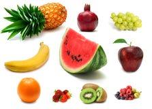 Frutas e bagas Foto de Stock