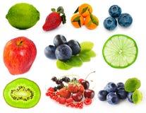 Frutas e bagas Fotos de Stock Royalty Free