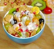 Frutas e cereais Foto de Stock