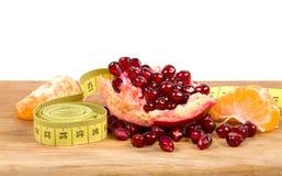 Frutas e dieta Imagem de Stock
