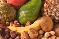 Frutas e gotas Foto de Stock Royalty Free