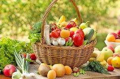 Frutas e legumes Imagem de Stock Royalty Free