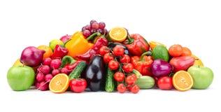 Frutas e legumes Fotos de Stock Royalty Free