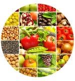 Frutas e legumes Fotografia de Stock