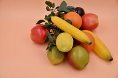 Frutas e legumes do falso Imagens de Stock