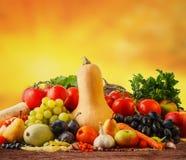 Frutas e legumes do outono imagem de stock royalty free