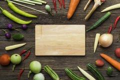 Frutas e legumes frescas do mercado dos fazendeiros foto de stock