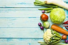 Frutas e legumes frescas do mercado dos fazendeiros fotos de stock