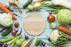 Frutas e legumes frescas do mercado dos fazendeiros fotografia de stock