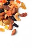 Frutas e porcas secadas Imagens de Stock