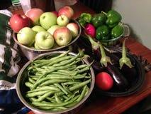 Frutas e Veggies foto de stock