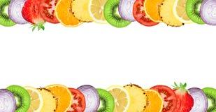 Frutas e verdura ilustração royalty free