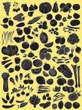 Frutas e verdura Fotografia de Stock