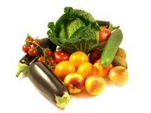 Frutas e verdura. fotografia de stock royalty free