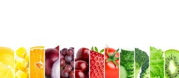 Frutas e verdura Foto de Stock