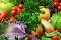 Frutas e verdura frescas Imagens de Stock