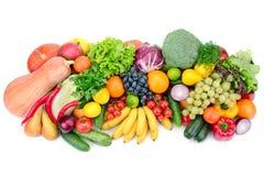 Frutas e verdura frescas Foto de Stock