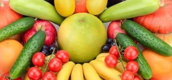 Frutas e verdura frescas Imagens de Stock Royalty Free