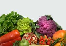 Frutas e verdura montadas imagens de stock royalty free