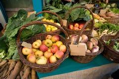 Frutas e verdura orgânicas fotografia de stock