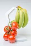 Frutas e verdura saudáveis Imagens de Stock Royalty Free