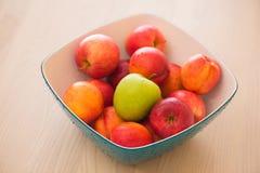 Frutas en el bown Fotografía de archivo libre de regalías
