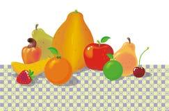 Frutas en el cuadro 02 Imagenes de archivo