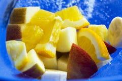 Frutas en el hielo p3 Fotos de archivo libres de regalías