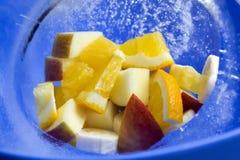 Frutas en el hielo p2 Fotos de archivo libres de regalías