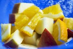 Frutas en el hielo p4 Fotos de archivo