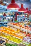 Frutas en el mercado Foto de archivo libre de regalías