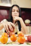 Frutas en foco Fotografía de archivo