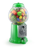 Frutas en la máquina del gumball ilustración del vector