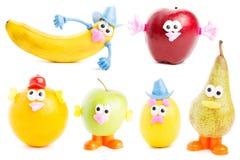 Frutas engraçadas Imagem de Stock Royalty Free