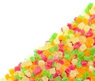 Frutas escarchadas multicoloras. Imagen de archivo libre de regalías
