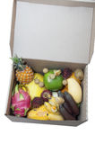 Frutas exóticas fotos de stock
