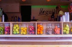 Frutas, expo 2015, Milán Foto de archivo libre de regalías