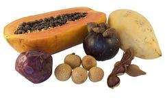 Frutas exóticas Foto de Stock