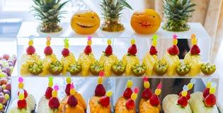 Frutas frescas Fotos de archivo libres de regalías