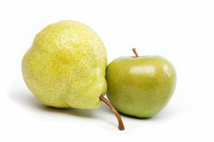 Frutas frescas aisladas en un blanco. Imágenes de archivo libres de regalías