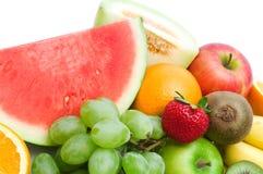 Frutas frescas da fatia Fotografia de Stock