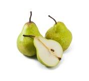 Frutas frescas da pera Imagem de Stock Royalty Free