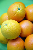 Frutas frescas de la naranja navel Fotografía de archivo