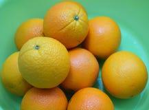Frutas frescas de la naranja navel Imagenes de archivo