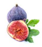 Frutas frescas de los higos Foto de archivo libre de regalías
