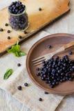 Frutas frescas del arándano Fotos de archivo libres de regalías