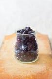 Frutas frescas del arándano Foto de archivo