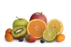 Frutas frescas del corte Imagen de archivo libre de regalías